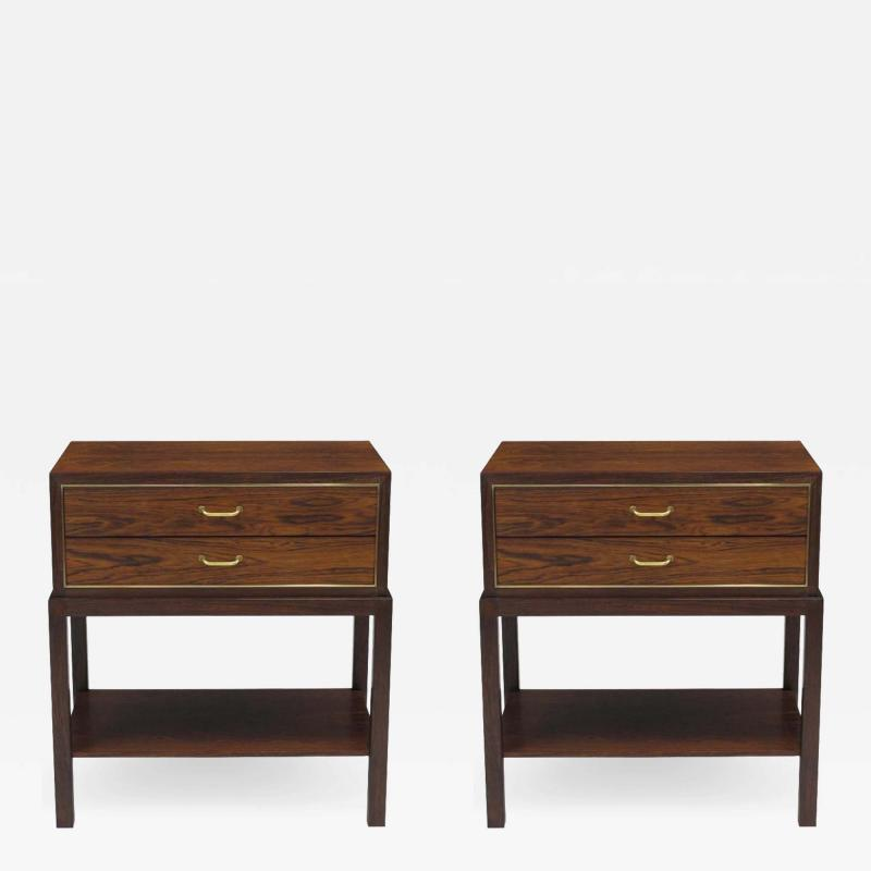 Ernst K hn Ernst K hn for Hansen Therp Rosewood nightstands
