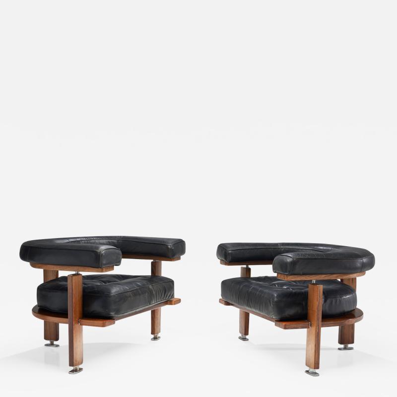Esko Pajamies Pair of Polar Lounge Chairs by Esko Pajamies Finland 1960s