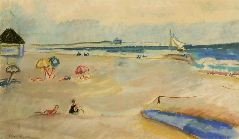 Ethel Louise Paddock Day at the Beach