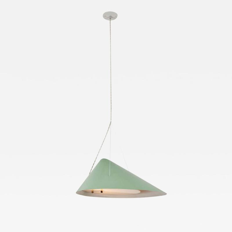 Ettore Sottsass 1950s Italian Suspension Lamp Attributed to Ettore Sottsass for Arredoluce
