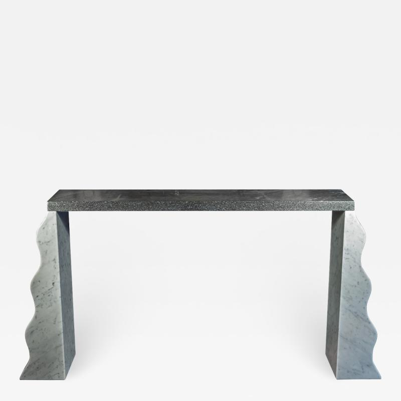 Ettore Sottsass Ettore Sottsass High Console Model Montenegro Marble circa 1970 Italy