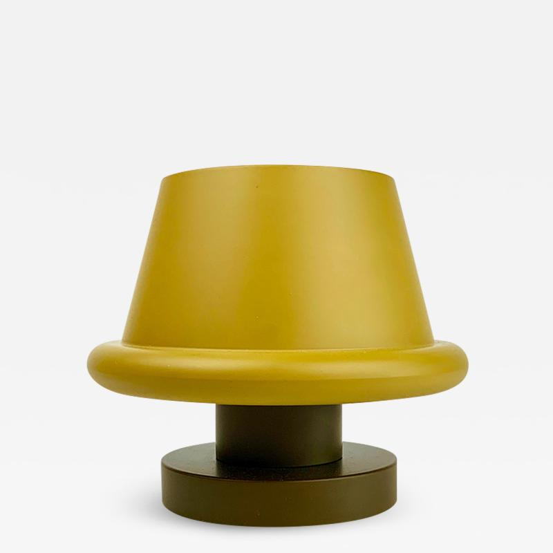 Ettore Sottsass Ettore Sottsass Senape Vase Yellow Ochre Umber