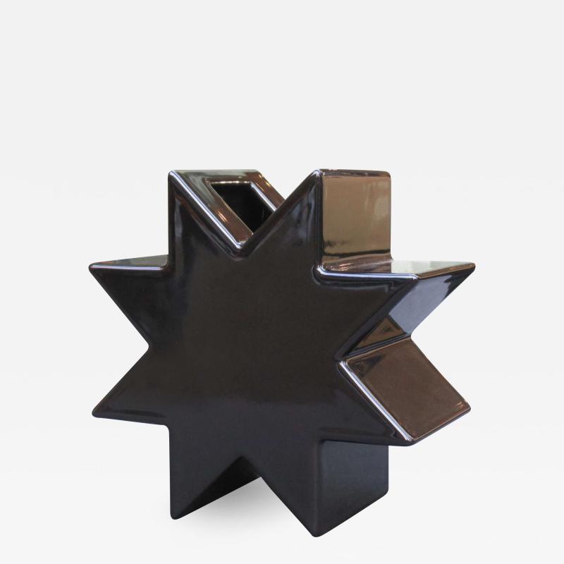 Ettore Sottsass Hsing vase designed by Ettore Sottsass