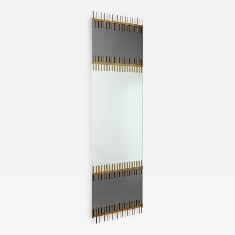 Ettore Sottsass Rare Wall Mirror by Ettore Sottsass