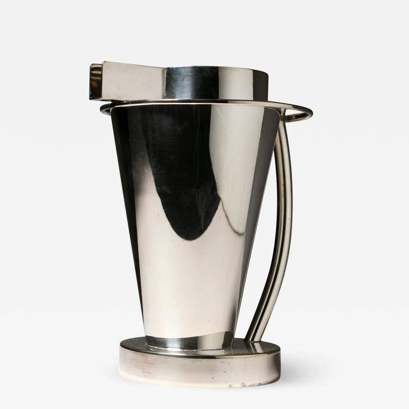 Ettore Sottsass Silverplated Pitcher by Ettore Sottsass for Design Gallery