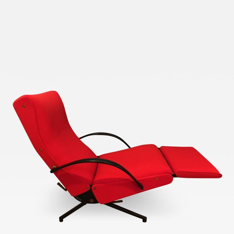 Eugenio Gerli Osvaldo Borsani P40 Upholstered Lounge chair by Osvaldo Borsani for Techno