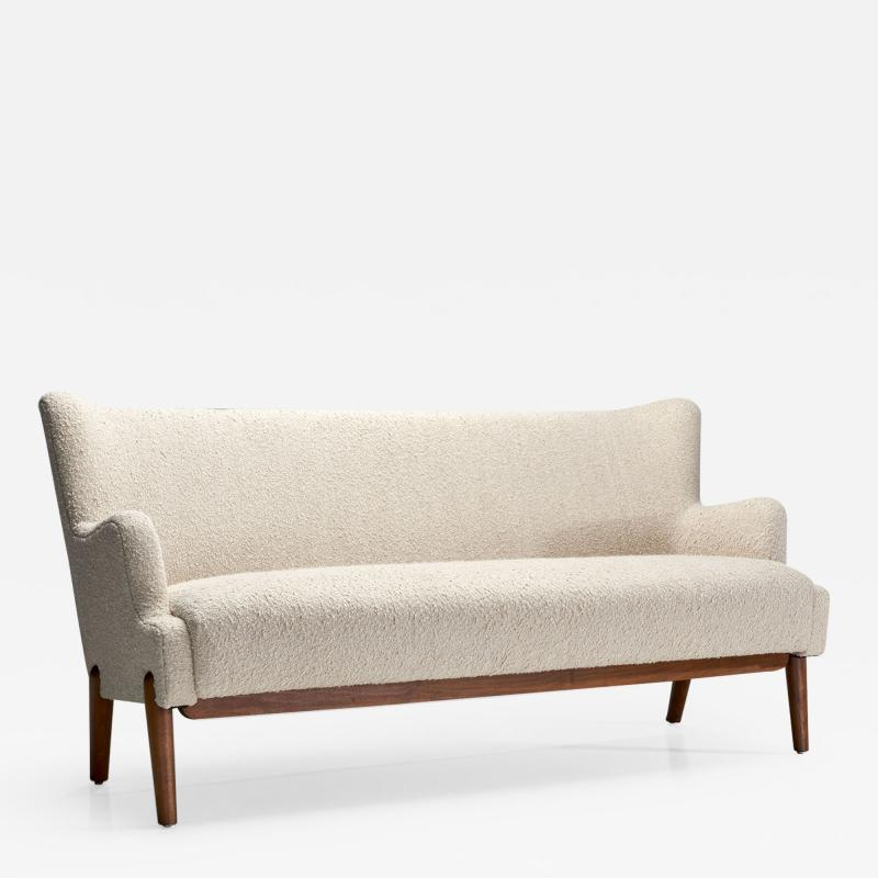 Eva and Nils Koppel Eva and Nils Koppel Three Seater Sofa Koppel Denmark 1950s