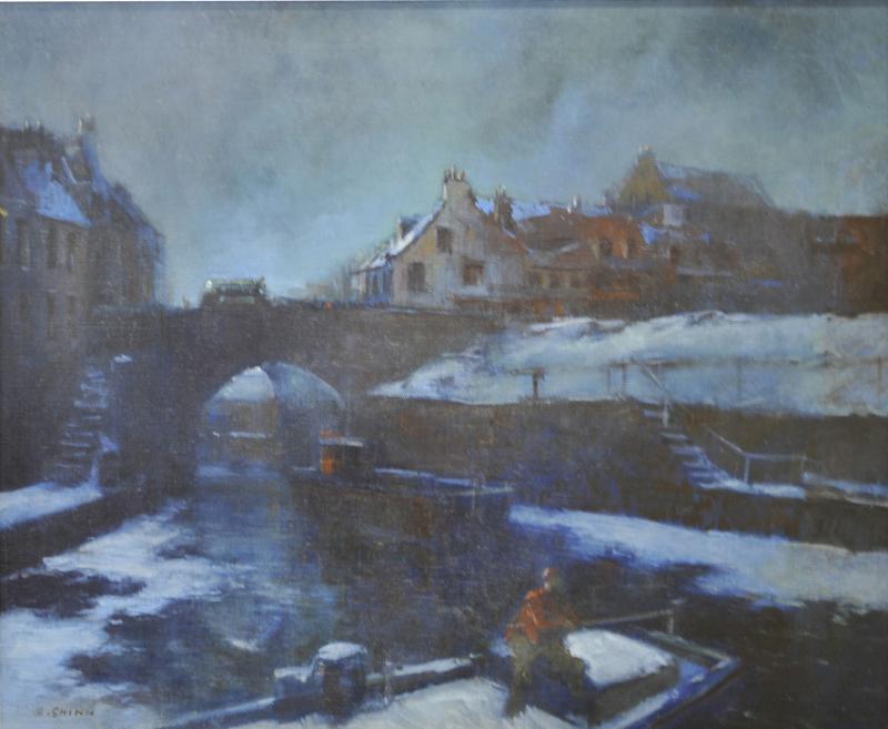 Everett Shinn Winter in Paris