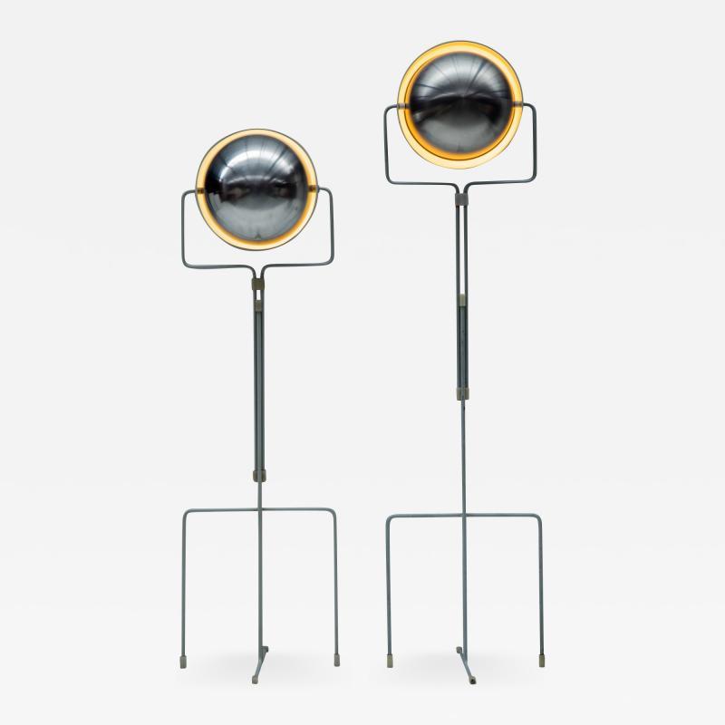 Evert Jelle Jelles Set of Eclips floorlamp by Evert Jelle Jelles for Raak