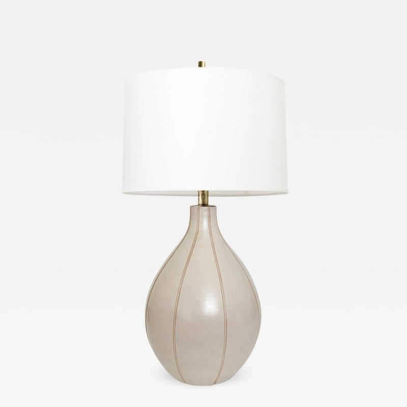 Ewald Dahlskog EWALD DAHLSKOG SCANDINAVIAN MODERN CERAMIC TABLE LAMP