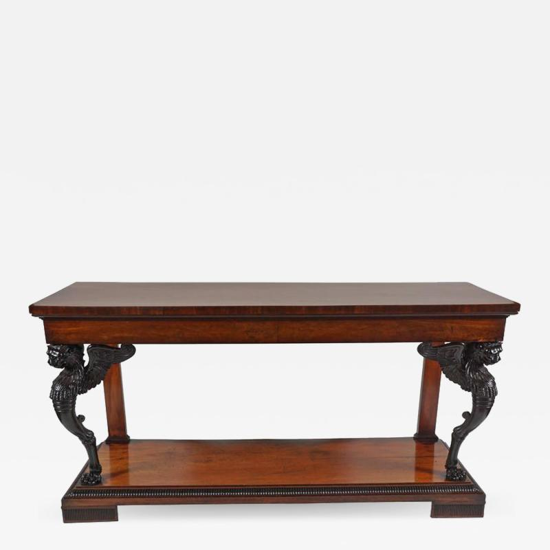 Exceptional English Regency Side Table circa 1810
