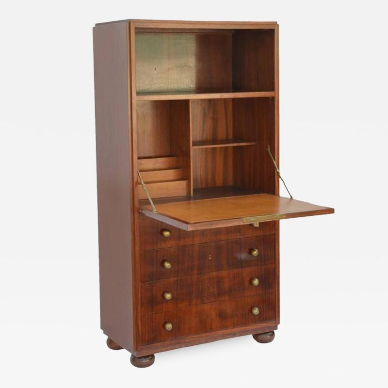Exceptional French Art Deco Secretary Cabinet