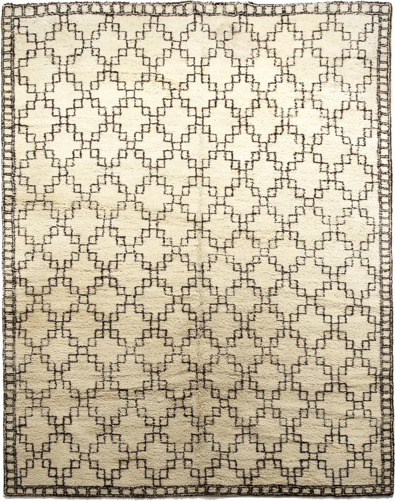 Exceptional Swedish Rug with Geometric Design