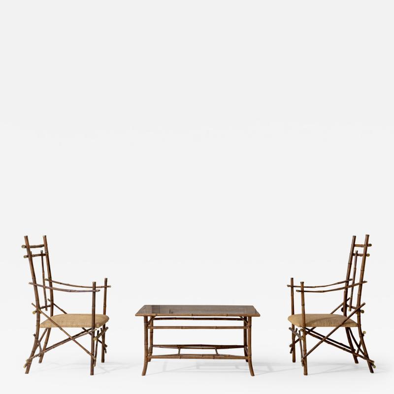 Extraordinary Italian Bamboo Set