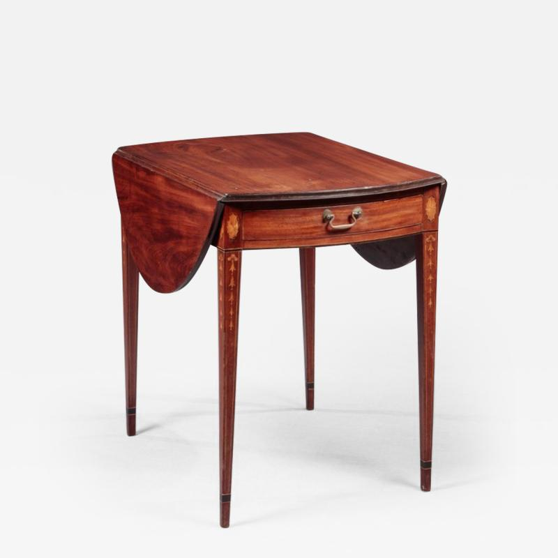FEDERAL INLAID PEMBROKE TABLE