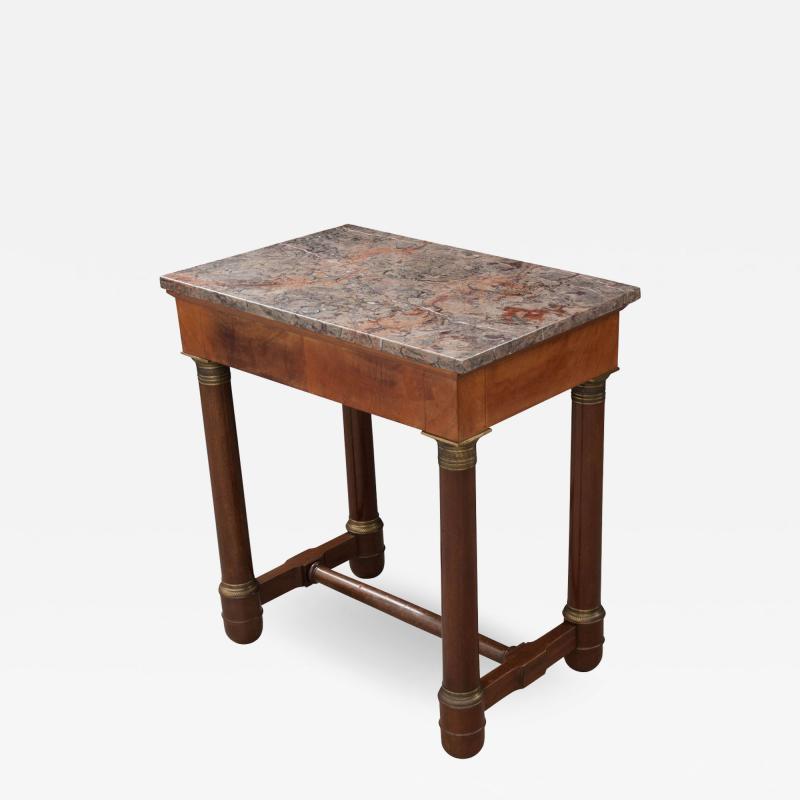 FRENCH EARLY 20TH CENTURY MAHOGANY EMPIRE TABLE