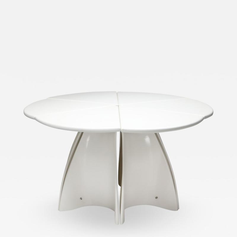 Fabio Lenci Fabio Lenci post modern petal dining table 1960s