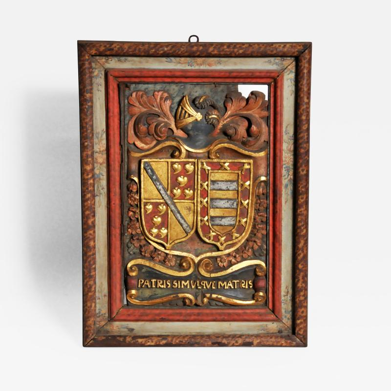 Family Crest from a Chateau in France
