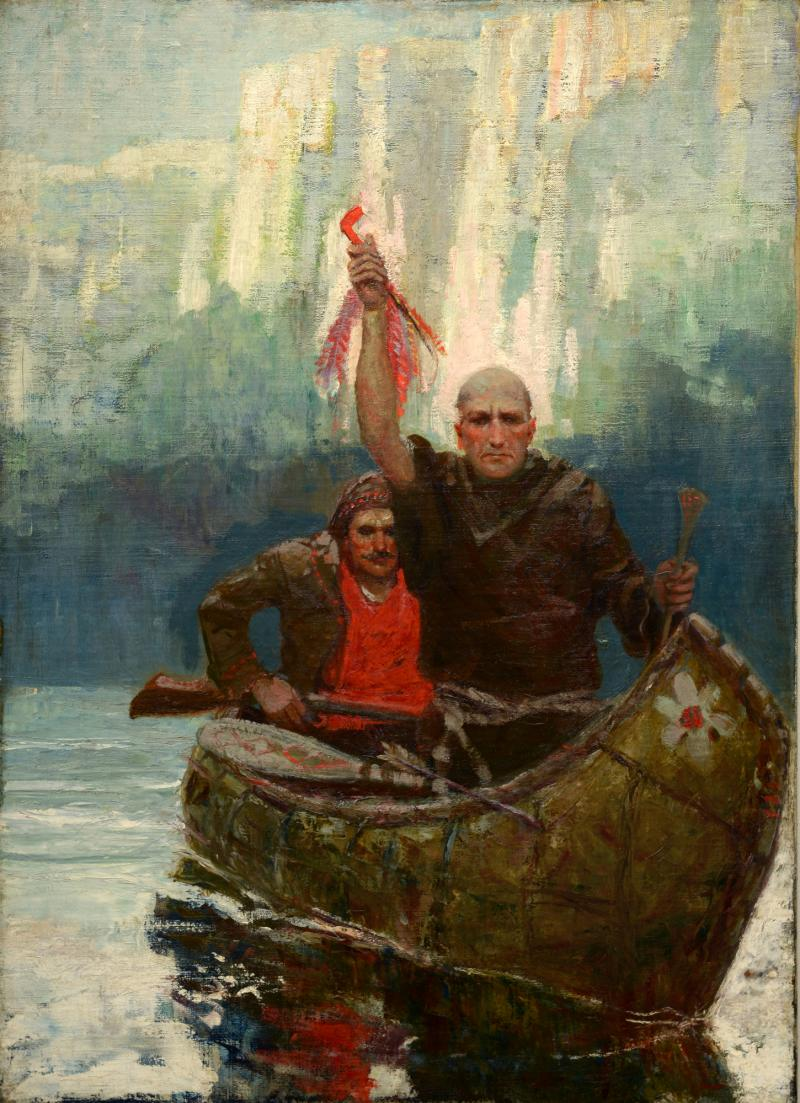 Father Hennepin on the Upper Mississippi