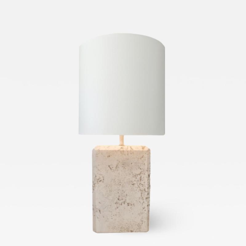 Faux Stone Lamp