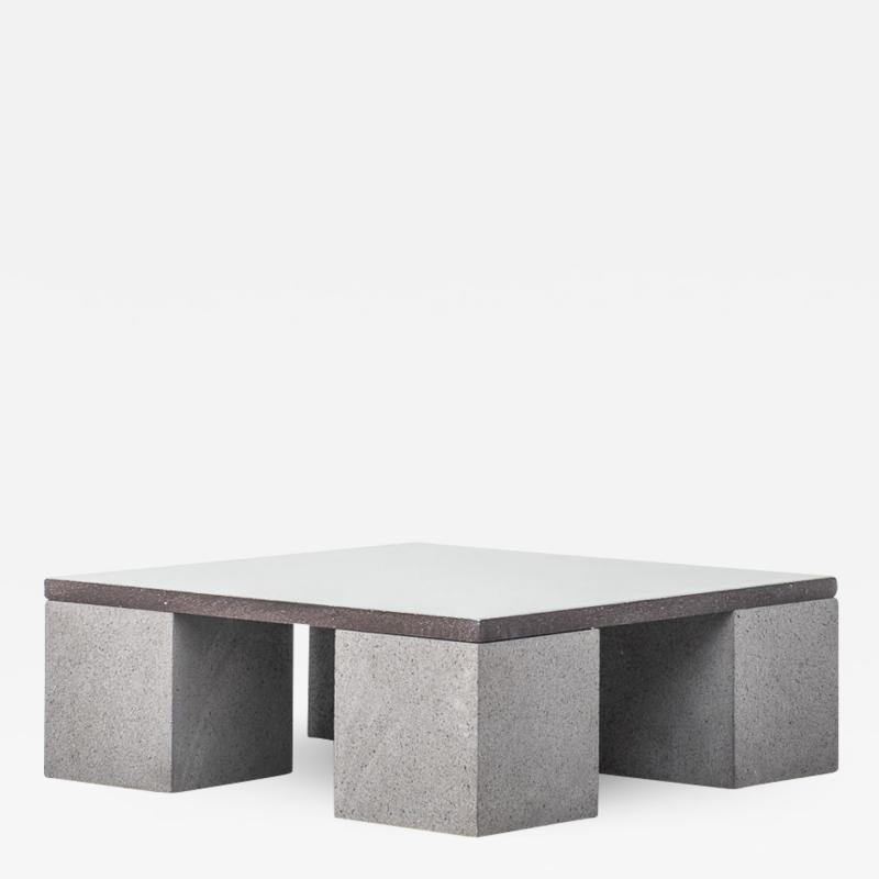 Faye Toogood Lava stone Sculptor s coffee table Faye Toogood UK