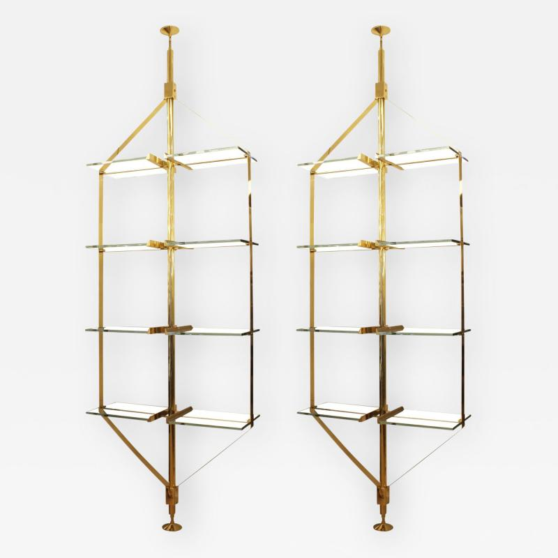 Fedele Papagni Limited Edition Book Shelves or Dividers By Fedele Papagni for Gaspare Asaro