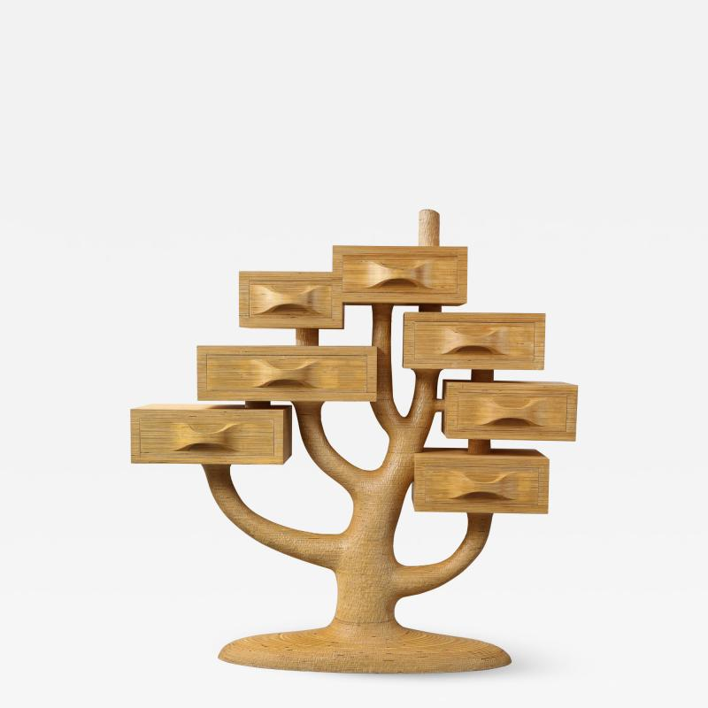 Fedele Papagni Unique Tree Chest of Drawers by Fedele Papagni
