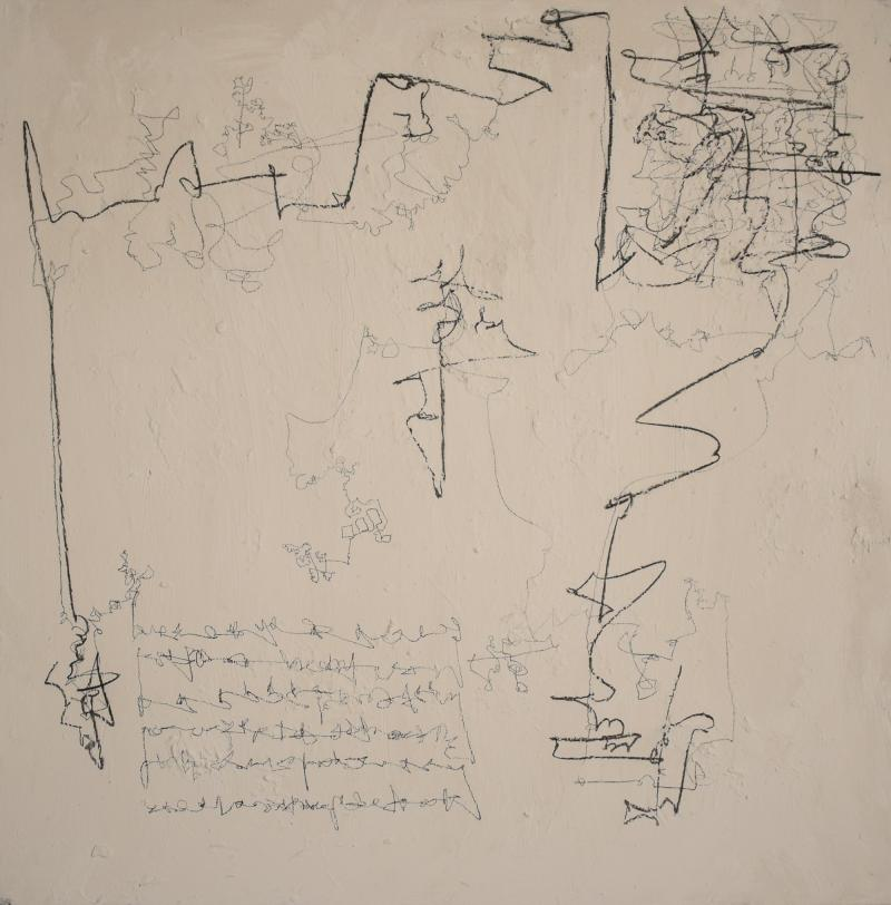 Felix Bachmann Contemporary Modern Abstract Painting Acrylic on Canvas