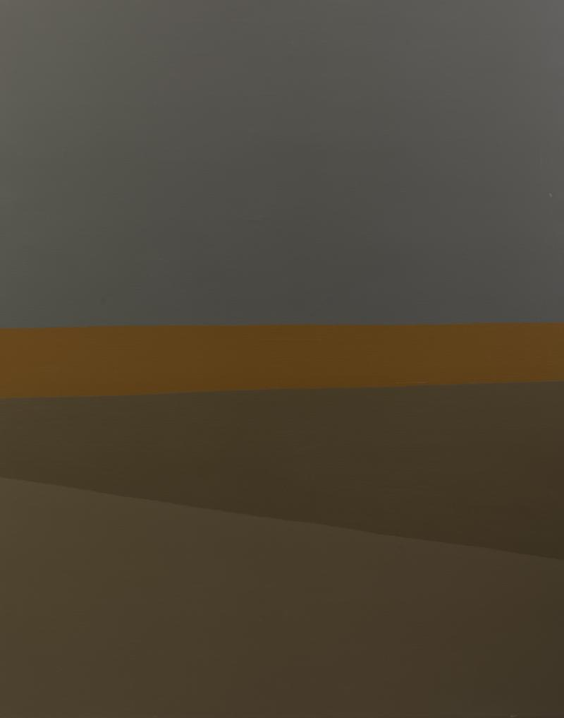Felrath Hines Landscape with Ochre Stripe