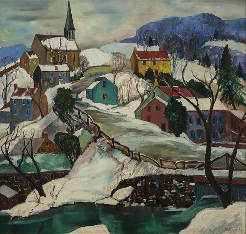 Fern Isabel Coppedge Village Hillside