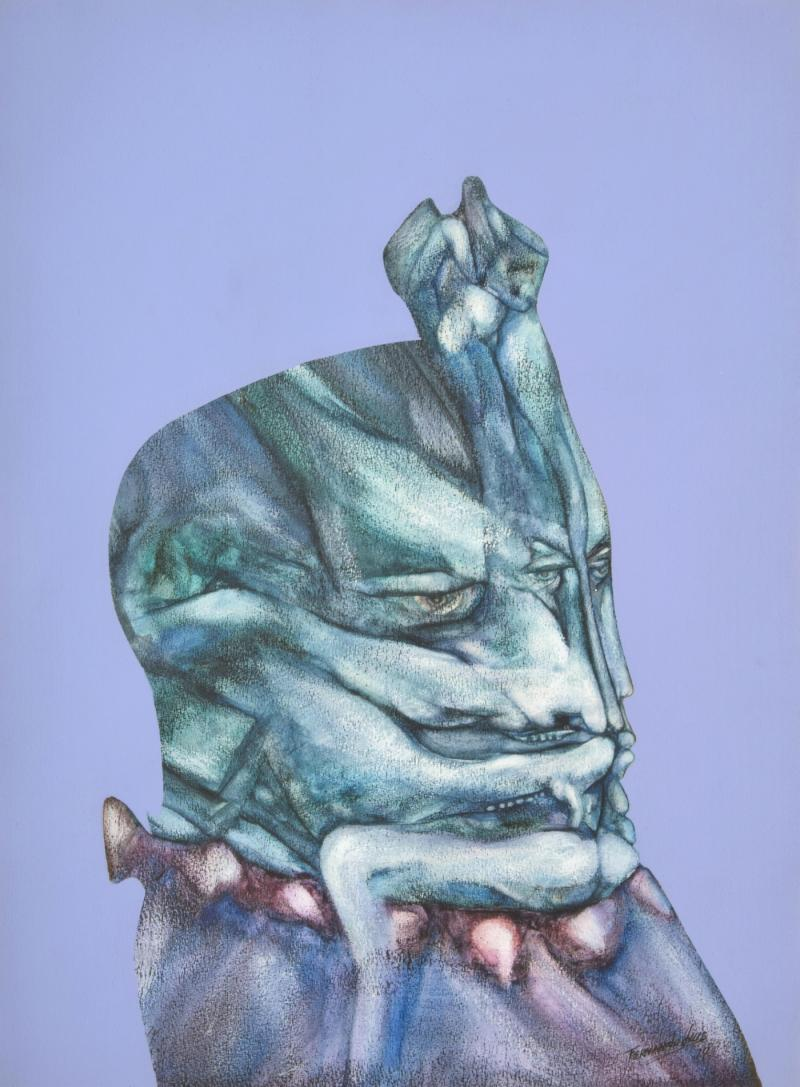 Fernando Luis Dominguez Fernando Luis Dominguez Abstract Figural Painting