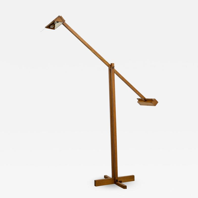 Filippo Panseca FILIPPO PANSECA WOOD FLOOR LAMP