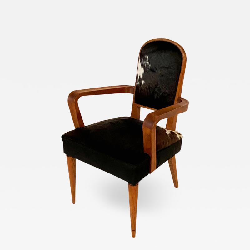 Fine French Art Deco arm chair
