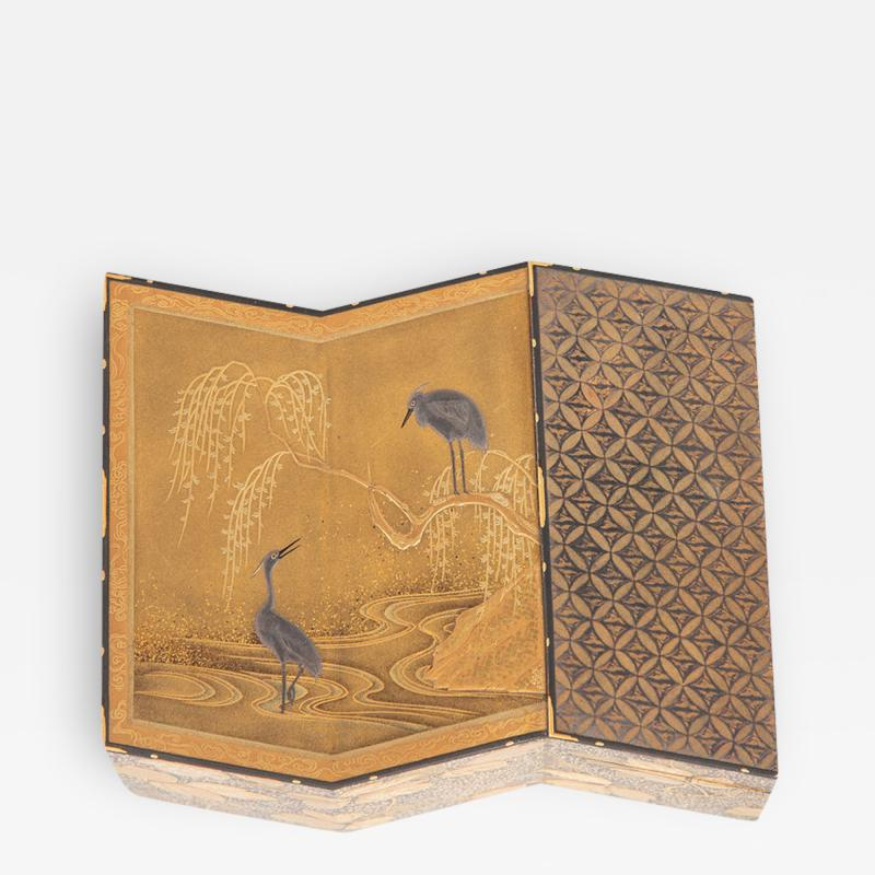 Fine Lacquer Kogo Incense Box