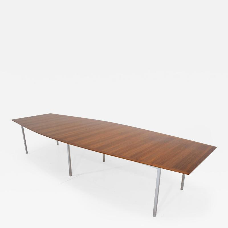 Florence Knoll Florence Knoll Rosewood Dining or Conference Table