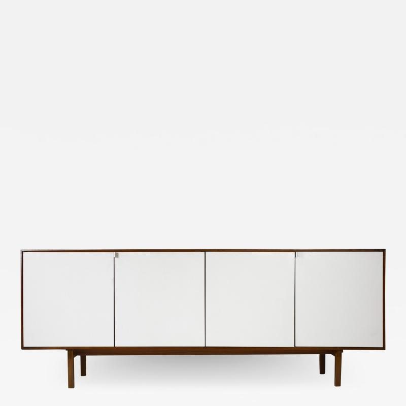 Florence Knoll Florence Knoll Walnut Cabinet with Maple Interior Model No 541 Germany 1950s