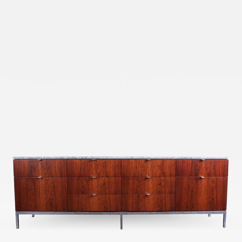 Florence Knoll Rosewood Credenza by Florence Knoll