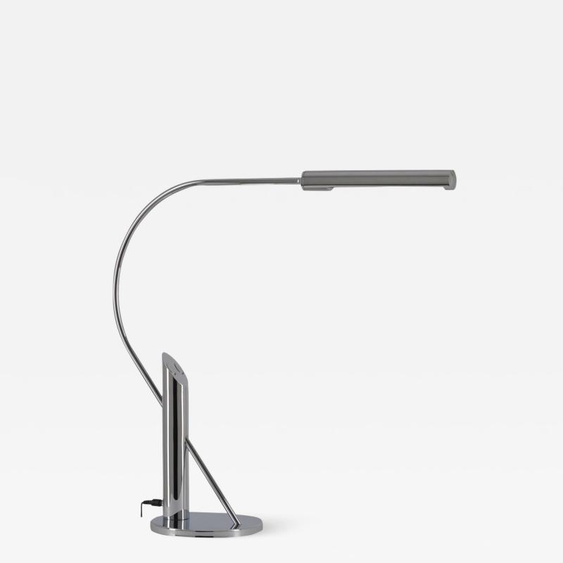 Florian Schulz Elegant Topan Chrome Table Lamp by Florian Schulz Germany