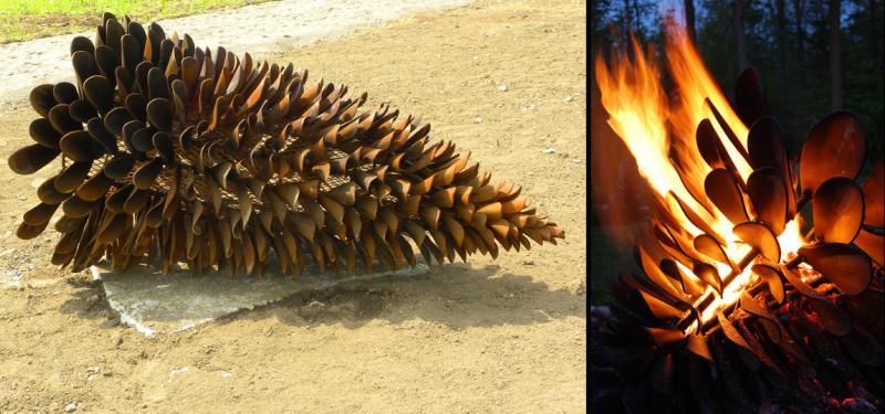 Floyd Elzinga Fire Cone