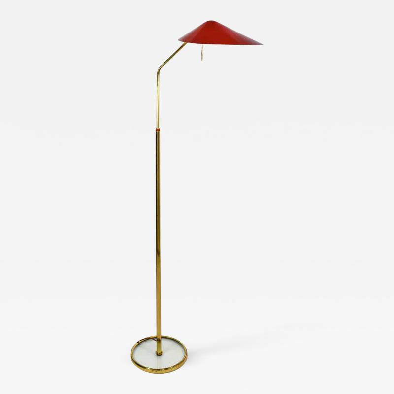 Fontana Arte Elegant adjustable standing lamp