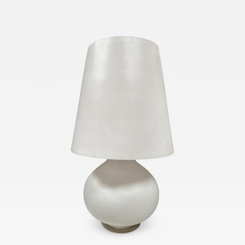 Fontana Arte Max Ingrand Glass Table Lamp for Fontana Arte Italy 1960s