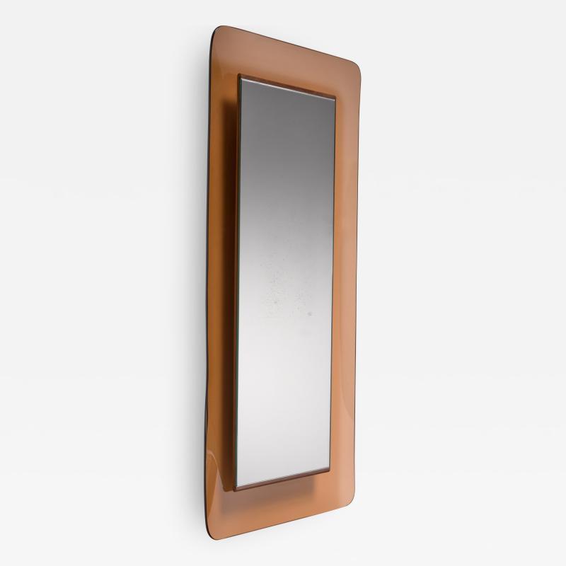 Fontana Arte Max Ingrand for Fontana Arte rectangular glass wall mirror