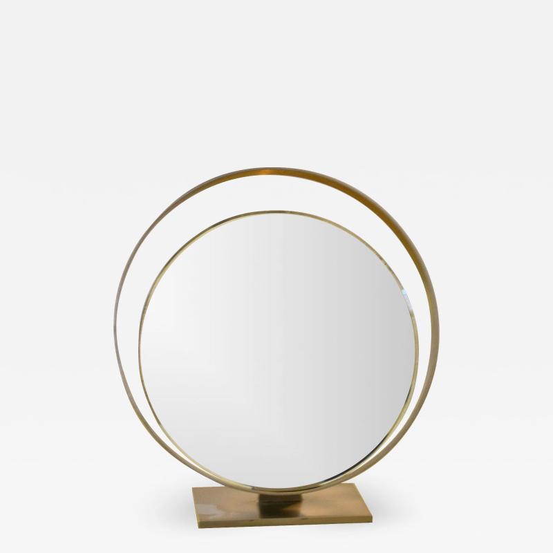 Fontana Arte Reclining Table Mirror Mod 2153 By Fontana Arte