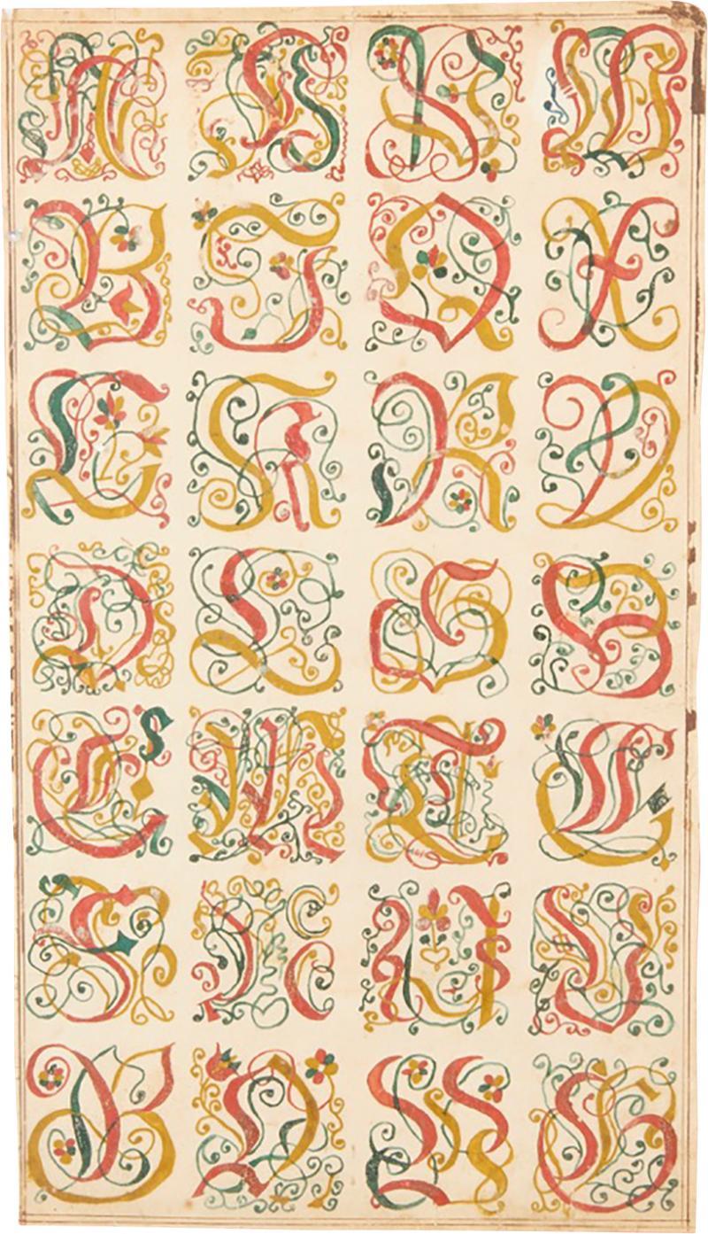 Fraktur Alphabet