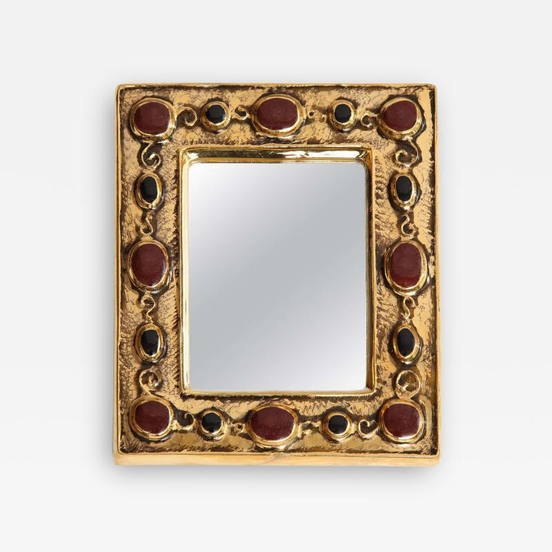 Fran ois Lembo Jeweled Fran ois Lembo Mirror