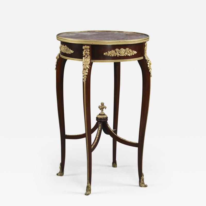 Fran ois Linke A Louis XV Style Table Ambulante