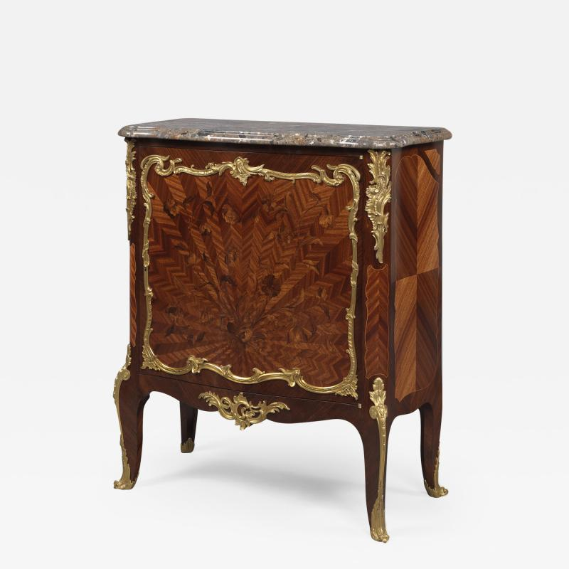 Fran ois Linke A Louis XVI Style Marquetry Side Cabinet