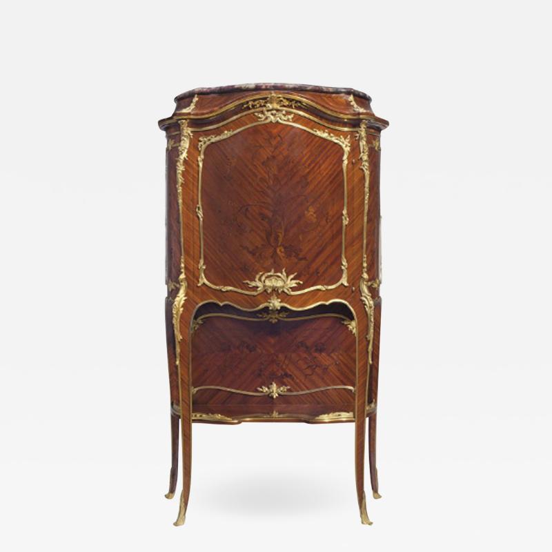 Fran ois Linke A Very Fine Quality Ormolu Mounted Kingwood Marquetry Cabinet by F Linke