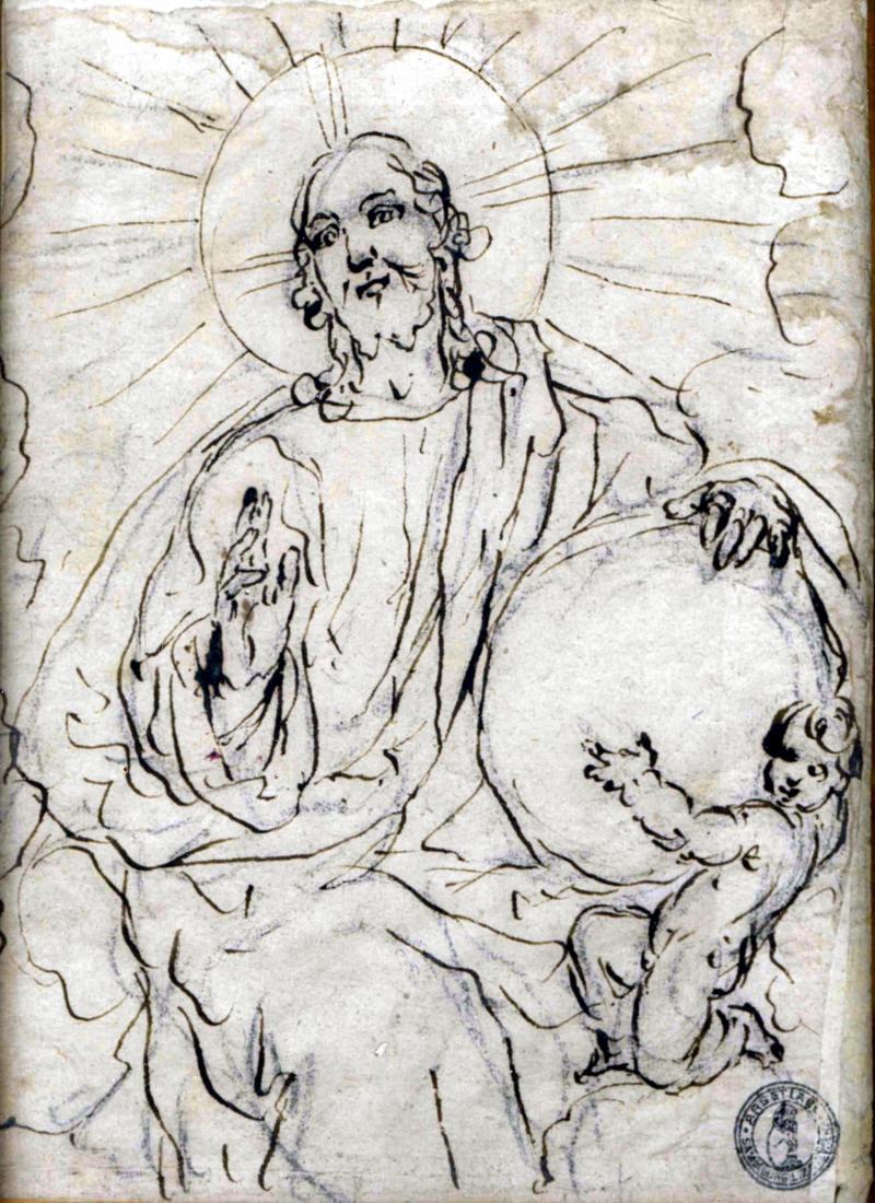 Francesco Maffei Christ Blessing