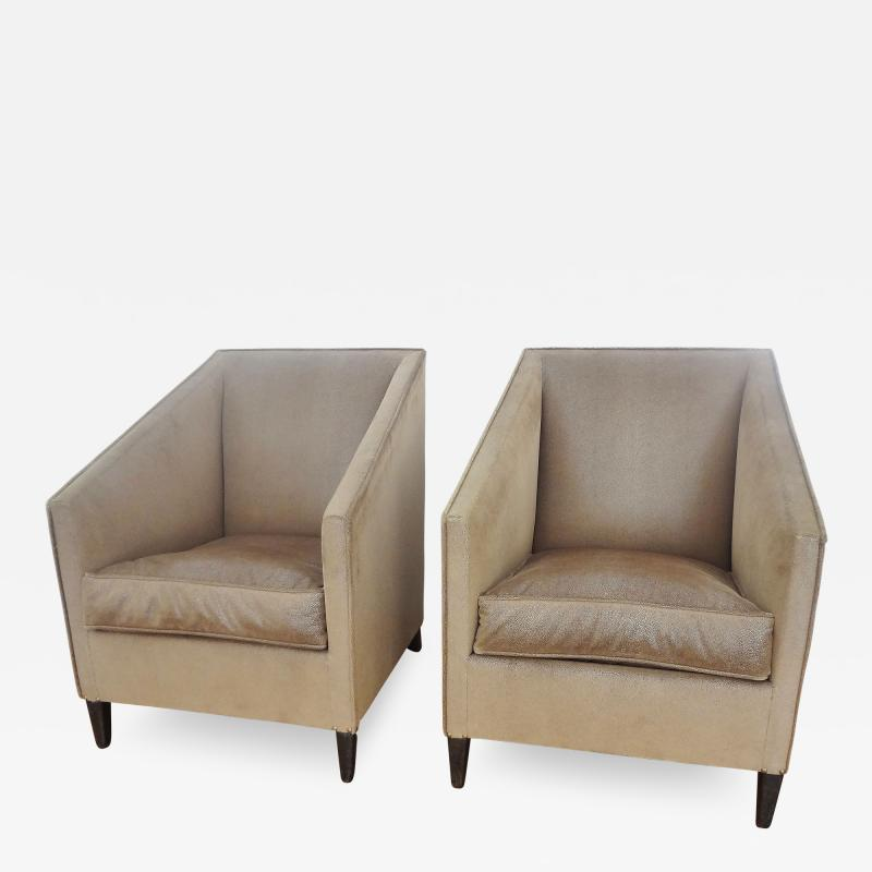 Francis Jourdain Exceptional Pair of Armchairs by Francis Jourdain France 1920s